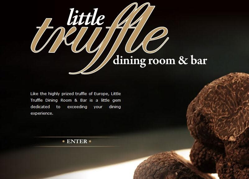 Little Truffle Category Fine Dining Room Bar