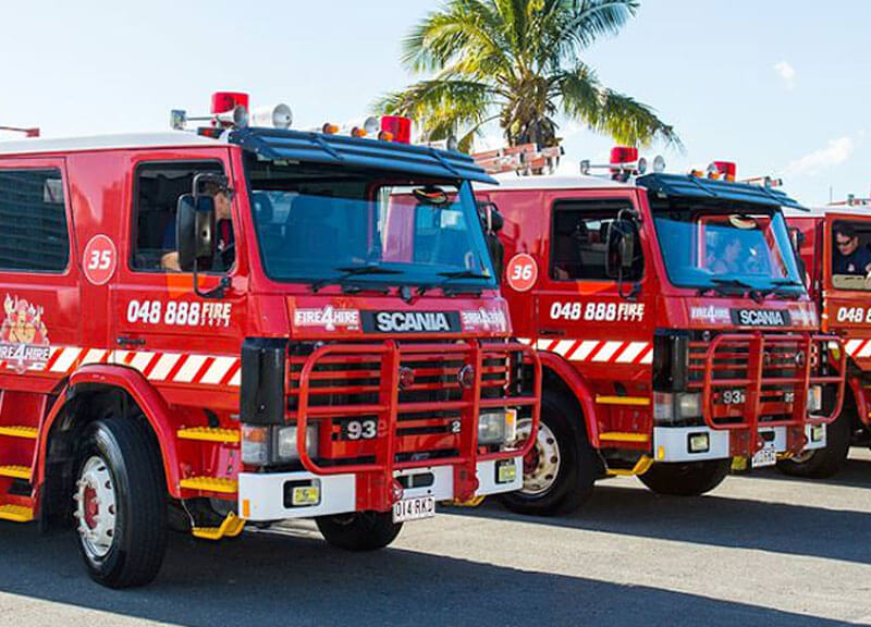Fire Engine Tours Gold Coast